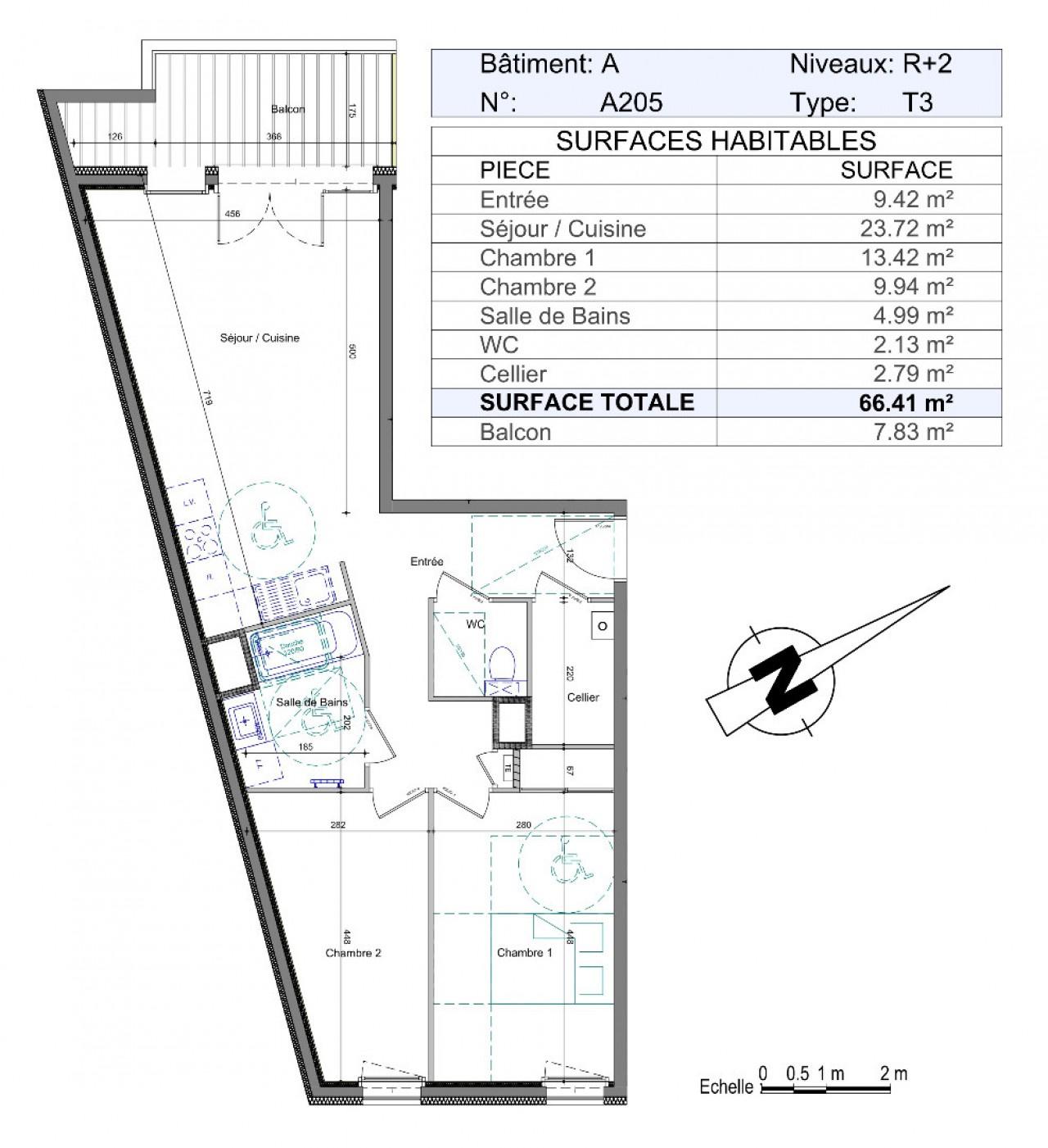 Surface Standard Salle De Bain homeline 74 france - agence immobilière, page 3 | fr